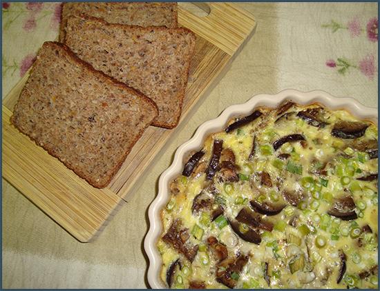 mushroom-and-brinjal-frittata