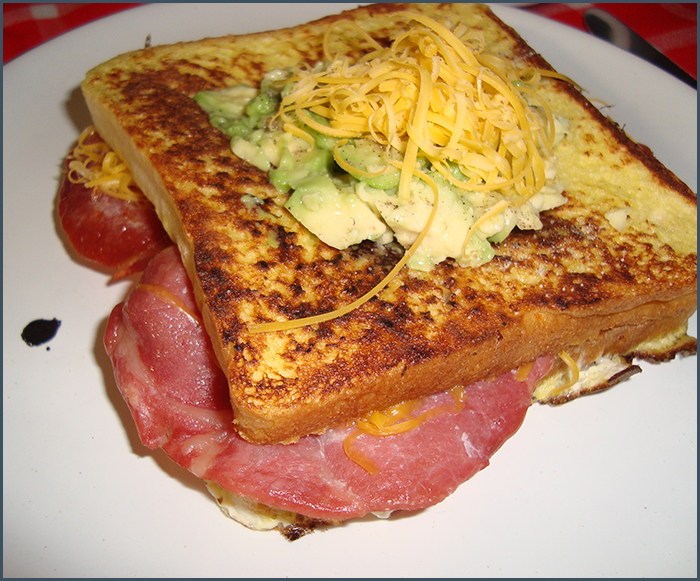 bacon-avo-and-cheese-french-toast