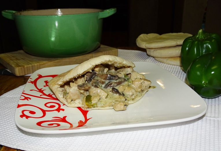 chicken-and-mushroom-pita-1