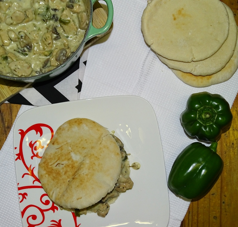 chicken-and-mushroom-pita-3