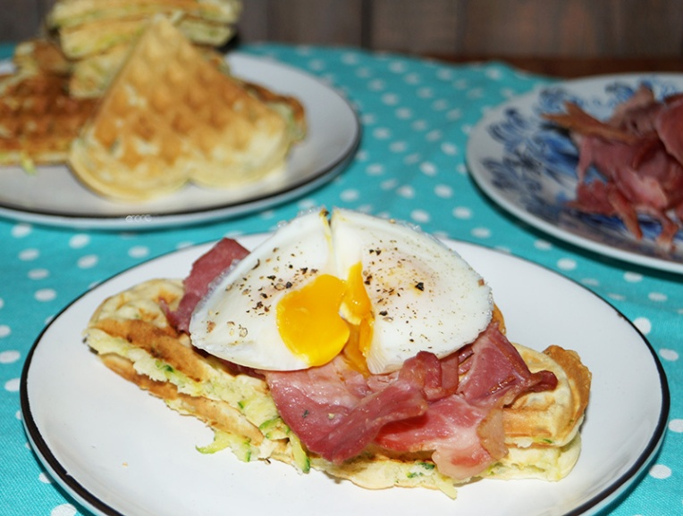 baby-marrow-waffles-with-bacon-and-egg-1