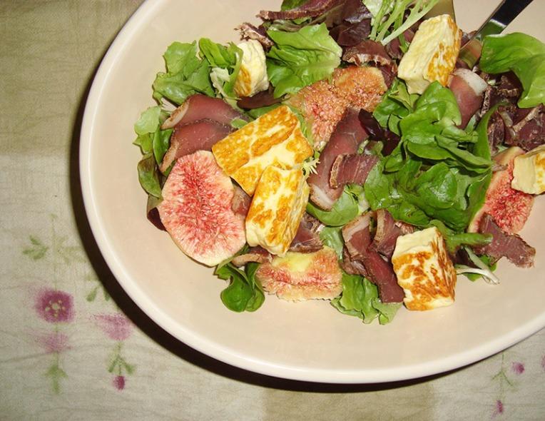 biltong-and-fig-salad-with-haloumi