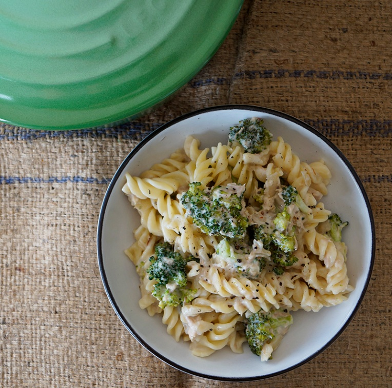Broccoli and tuna fusilli 2