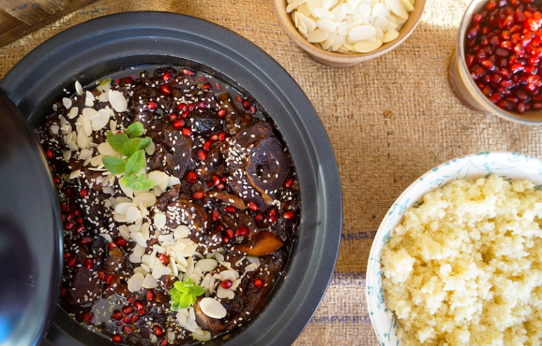 lamb and prune tagine 1