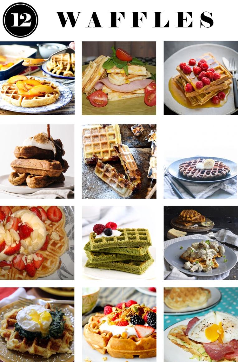 12 waffles